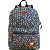 Mochila Dmw Bananas Nintendo Azul/Amarela