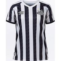 Camisa Santos Ii 20/21 S/N° Estádio Umbro Feminina - Feminino