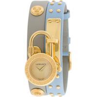Versace Relógio Medusa Lock Icon - Azul
