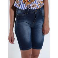 Bermuda Jeans Feminina Max Denim