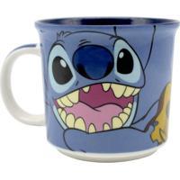 Caneca Em Cerâmica Stitch 350 Ml