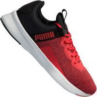 Tênis Puma Flyer Beta - Masculino - Vermelho/Preto