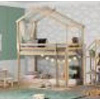Beliche Montessoriano Prime Com Telhado V Natural - Casatema