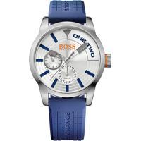 Relógio Hugo Boss Masculino Borracha Azul - 1513307