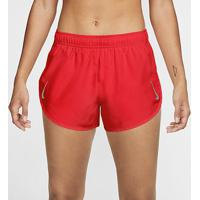 Short Nike Tempo Feminino - Feminino-Coral+Bordô