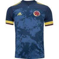 Camisa Colômbia Ii 2020 Adidas - Masculina - Azul Escuro