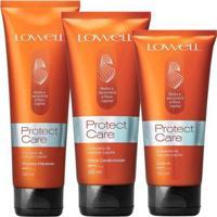 Kit Protect Care Shampoo Hidratante 240Ml + 1 Condicionador 200Ml + 1 Leave-In 180Ml - Unissex-Incolor