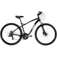 Bicicleta Caloi Easy Rider - Aro 700 - Freio A Disco - Câmbio Shimano Tx - 21 Marchas - Preto