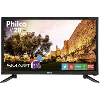 "Tv Smart Led Hd 28"" Philco Bivolt Ph28N91Dsgw"