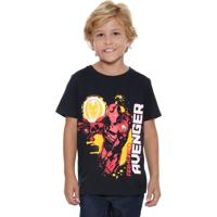 Camiseta Infantil Estampa Homem De Ferro Marvel