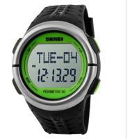 Relógio Skmei Digital Pedômetro 1058 Verde
