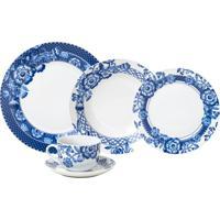 Aparelho De Jantar Wolff Santorini 20 Peças Porcelana