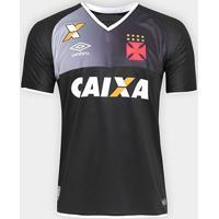 Camisa Vasco Goleiro 17/18 S/Nº Torcedor Umbro Masculina - Masculino