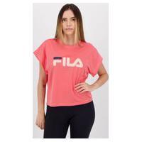 Camiseta Fila Honey Touch Feminina Rosa
