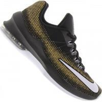 Tênis Nike Air Max Infuriate Low - Masculino - Preto/Ouro