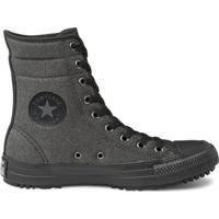 Tênis Converse Chuck Taylor All Star Hi-Rise - Feminino-Preto+Cinza