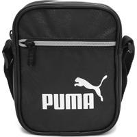 Bolsa Puma Shoulder Bag Core Up Preta - Kanui