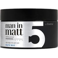 Pomada Modeladora Elastine - Clay Wax 5 Man In Matt 80G - Unissex-Incolor