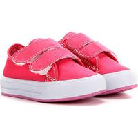Tênis Infantil Kurz Velcro Basico - Feminino-Pink
