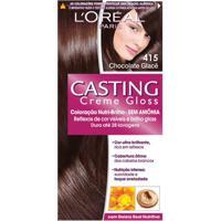 Tintura L'Oréal Casting Gloss 415 Chocolate Glacê