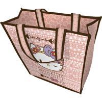 Sacola De Compras Rosa Hello Kitty Urban