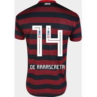 Camisa Flamengo I 19/20 Nº 14 - De Arrascaeta Jogador Adidas Masculina - Masculino