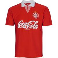 Camisa Internacional Retrô 1992 Copa Do Brasil Masculina - Feminino-Vermelho