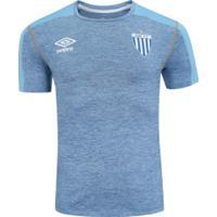 Camisa Do Avaí Aquecimento 2019 Umbro - Masculina - Azul/Azul Claro