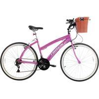 Bicicleta Track Bikes Confort Week 200 Plus - Aro 26 - Feminino