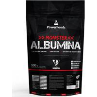 Monster Albumina Powerfoods 500G - Unissex