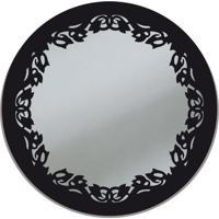 Espelho De Parede 13273P Preto 70X70 Art Shop