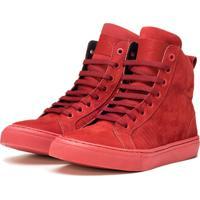 Tênis Sneaker K3 Fitness Snow Vermelho