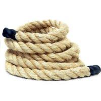 Corda De Sisal Para Escalada E Funcional Crossfit Rope Climb 38Mm X 5 Metros - Enforce Fitness - Unissex