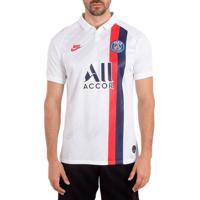 Camisa Masculina Nike Psg Y Stad Jsy Iii Branco/Vermelho - P