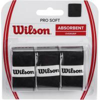 Overgrip Wilson Over Pro Soft - Preto