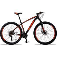 Bicicleta Aro 29 Ksw Xlt 27V Câmbios Shimano Alívio M4000 Freio A Disco Mecânico Com Suspensão - Unissex