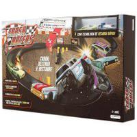 Pista Crash Racers Com 2 Carrinhos - Multikids