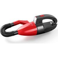 Aspirador De Pó Automotivo 1500Pa 12V 60W Funcao Solido E Liquido Com Mangueira Vermelho Multilaser - Au607 - Padrão