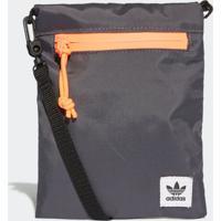 Bolsa Adidas Simple Pouch Originals Cinza - Tricae