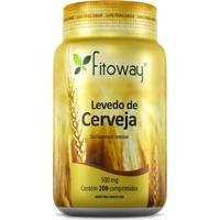 Levedo De Cerveja- 200 Cápsulas- Fitowayfitoway