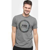 Camiseta Hd Colapse Masculina - Masculino-Grafite