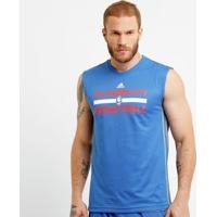 Camiseta Regata Adidas Nba Oklahoma City Reversivel - Masculino