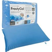 Travesseiro Fibrasca Frostygel Nasa Viscoelástico Block Base System 50X70Cm Azul