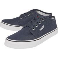 357f56274d5 Sapatênis Coca-Cola Shoes Chukka Ii Azul