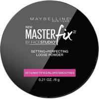 Pó Fixador Maybelline Face Studio Translucido - Feminino-Incolor