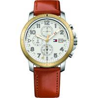 Relógio Tommy Hilfiger Masculino Couro Marrom - 1791363