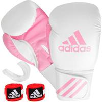 Kit Boxe Adidas Response + Bucal + Bandagem - Unissex