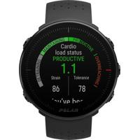 Relógio Monitor Cardíaco Polar Gps Vantage M Preto