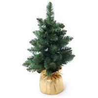 Árvore De Natal Decoraçáo Mini Pinheiro 45Cm 55 Hastes Verde
