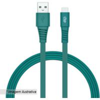 Cabo Micro Usb Android- Verde- 120Cm- Usb- Ii2Go